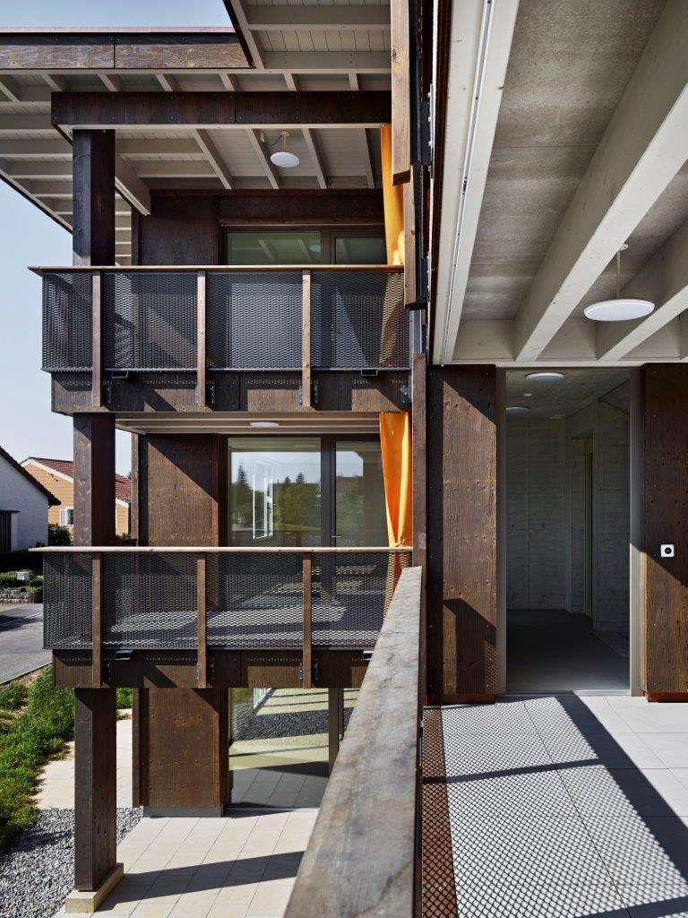 Erni Holzbau | Wohnüberbauung in Quellengarten
